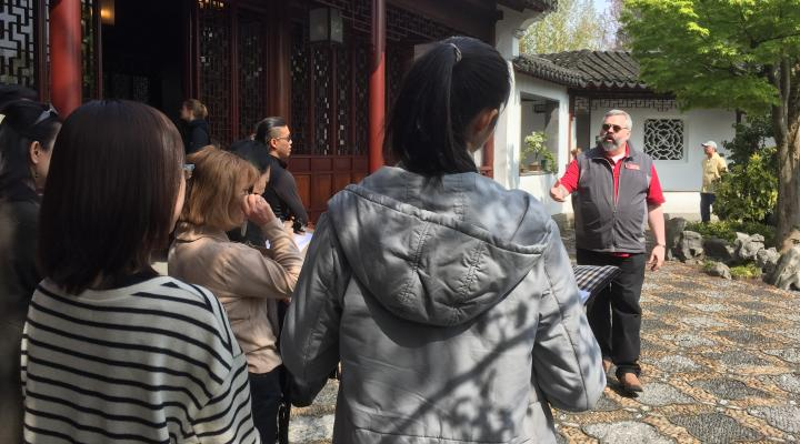 Sun Yat Sen Garden Volunteers needed